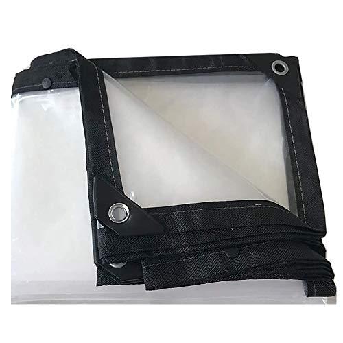 Transparante waterdichte dekzeil, geïsoleerde outdoor regendichte vloerbedekking, verdikte waterdichte doek plastic doek, bescherming tent, anti-scheur