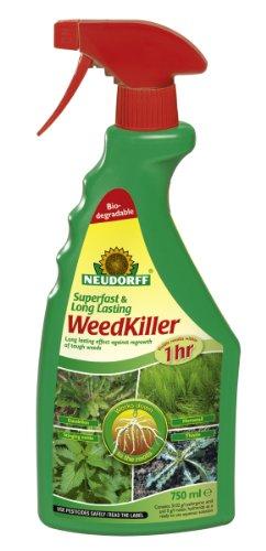 Neudorff 750 ml Superfast and Long Lasting Weed Killer
