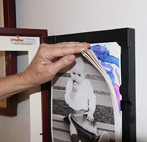 Li'l Davinci® Art Gallery - Set of 4 Black Wooden Frames for 8.5x11 artwork