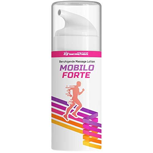 Mobilo Forte | SCHMERZGEL | Wohltuende Schmerzsalbe für Massage Sport und Alltag | Salbe ideal und kühlend bei Gelenkschmerzen und Verspannungen | 120 ml (1)