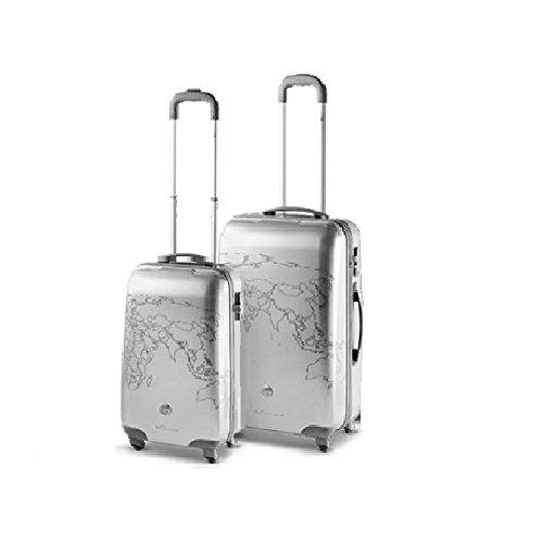 Roncato Ciak Trolley para portátiles, plateado (plateado) - 42.33.02