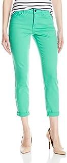 NYDJ Womens M77Z1499 Rachel Rolled Cuff Ankle Jeans in Bull Denim Jeans