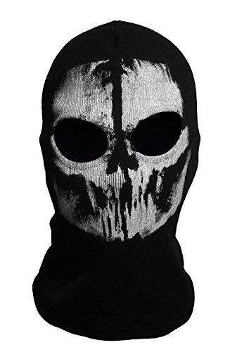 DAYAN Ghosts Sturmhaube Bike Skateboard Cosply Kostüm Schädel-Maske Stil 2