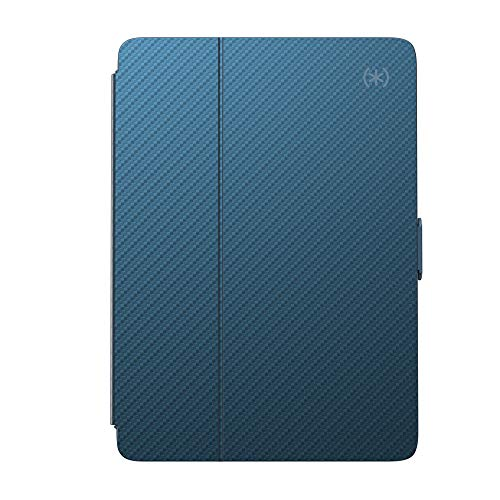 Speck 9.7 Inch Balance Protective Metallic Folio Adjustable Stand Magnetic iPad Case, Metallic Blue