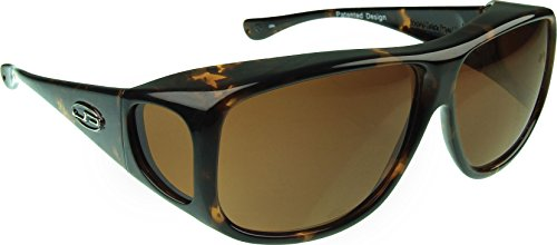Fitovers Eyewear Sunglasses - Aviator - X Large - Fits Over Frames (147mm x 51mm)