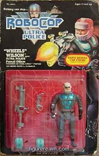 Robocop and the Ultra Police WHEELS WILSON by Robocop