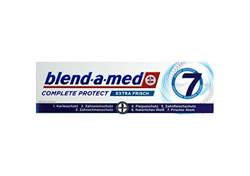 Blend-a-med Complete Protect 7 Zahncreme Extra Frisch 75ml Zahnpasta Neu & OVP