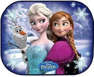 Disney Frozen R.A.E Set 2 Tendine Parasole per Auto 44 x 35 cm per Bambini 1 Adesivo da pc RICAMBI Auto Europa