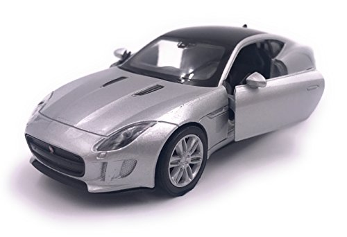 H-Customs Jaguar F Type Modelauto gelicentieerd product 1:34-1:39 / zilver