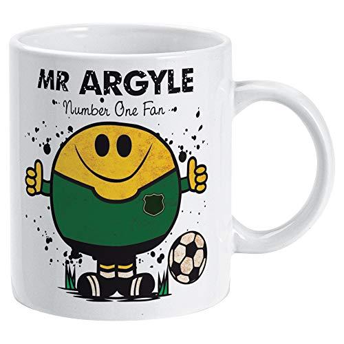 Mr Plymouth Argyle Mug - Gift Merchandise for Football Fan