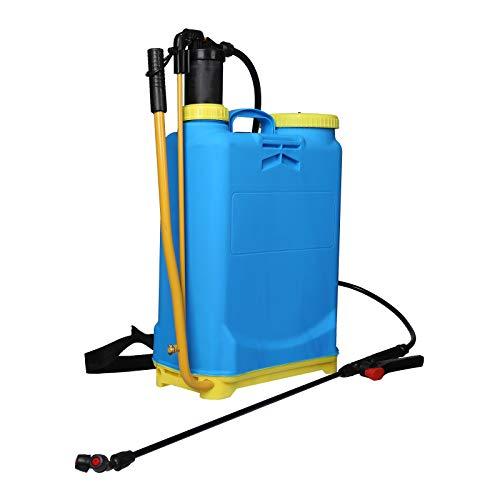 Pulverizador a presión con indicador de nivel 16L Mochila pulverizar sulfatar regar huerto y jardín