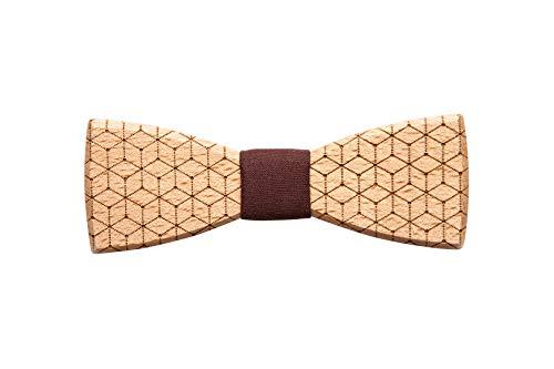 BeWooden handgefertigte Holzfliege Virineo | Stilvoll & Ökologisch | Hergestellt im Herzen Europas
