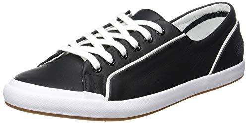 Lacoste Unisex dziecięce buty sportowe Lancelle Lace 6 Eye 731spw001202, wielokolorowa - Mehrfarbig Black White 001-36 EU