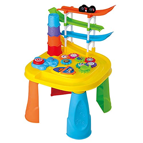 Best Deals! Musical Learning Toys Baby Multifunctional Game Table Educational Toys Baby Early Educat...