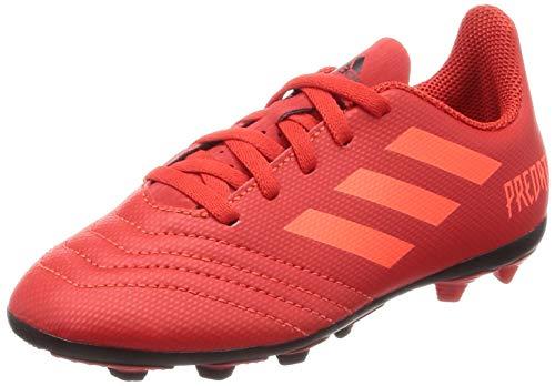 adidas Unisex-Kinder Predator 19.4 Fxg J Fußballschuhe, Mehrfarbig (Multicolor 000), 35 EU