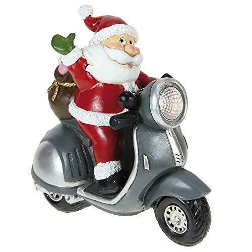 STEFANAZZI 1 Pezzo Lampada Natalizia Da Tavolo LED A Forma Di Babbo Natale Dipinta Per La Tavola Di Natale Decorazione Di Natale Regalo Natalizio Decorazioni Per La Casa Per Tavolo