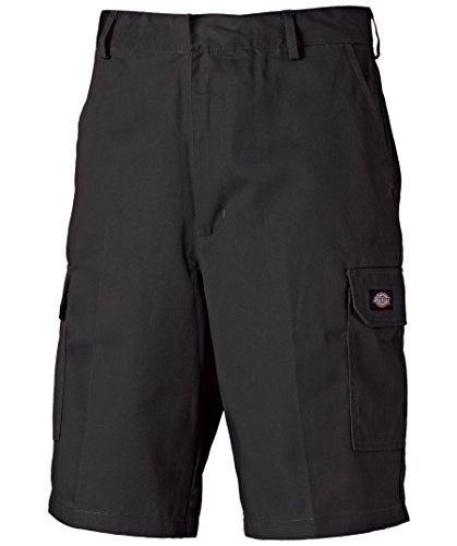 Dickies - Pantalones Cortos de Trabajo - Estilo Cargo - Pantalones de Trabajo y Ocio,Tabla de Tallas en la descripción