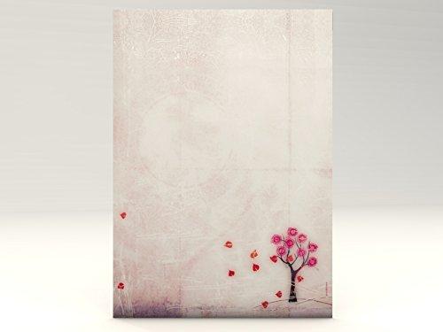 Briefpapier | Verträumter Herbst | 20 Blatt Herbstliches Motivpapier DIN A4