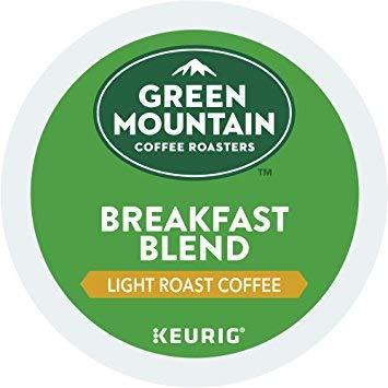 Green Mountain Coffee Roasters Breakfast Blend Flavor Coffee M1, Keurig...