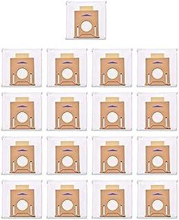 Nrpfell Zestaw 17 worków do odkurzacza T8 do Deebot Ozmo T8 i T8 AIVI odkurzacz próżniowy ze stacją samoopróżniającą