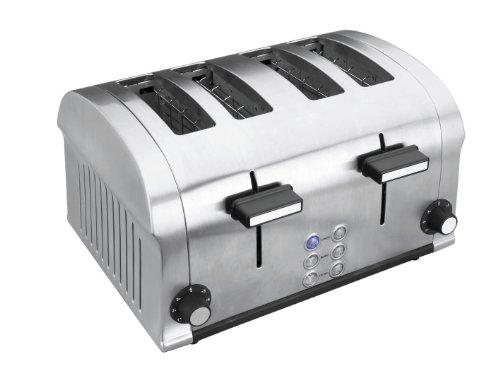 Lacor - 69164 - Tostadora eléctrica Luxe 4 Ranuras 1400w