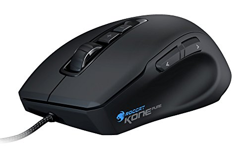 Roccat Kone Pure Optical Gaming Maus (5000 dpi, 7 programmierbare Tasten) Limited Amazon Edition schwarz