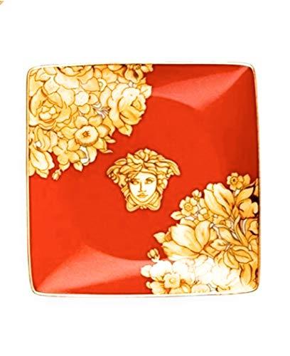 Versace Medusa Rhapsody Red Schale Quadrata 12 cm