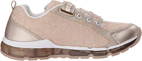 Geox Damen J Android Girl B Sneaker, Gold (Platinum/White), 36 EU