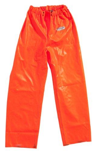 Ocean Classic Bundhose - Ölzeughose aus PVC auf Baumwollträger. DAS Ölzeug für den Profi (S, olivgrün)