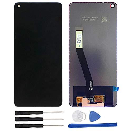 soliocial Completa Pantalla LCD + Táctil Digitalizador Reemplazo para Xiaomi Redmi Note 9 M2003J15SG / Xiaomi Redmi 10X (4G Version) 6.53 Inch Negro