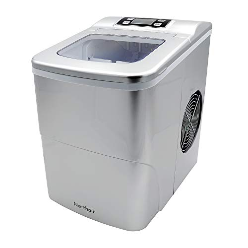 Northair Countertop Ice Maker Machine Up to 26lbs/Day with LCD Display, Portable...