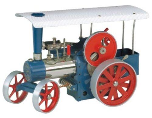 00405 - Wilesco D 405 - Dampftraktor, blau