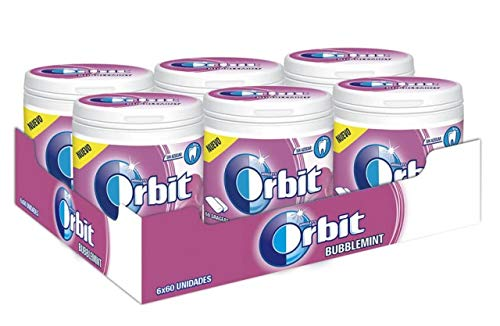Orbit bote bubblemint 6x60 u.