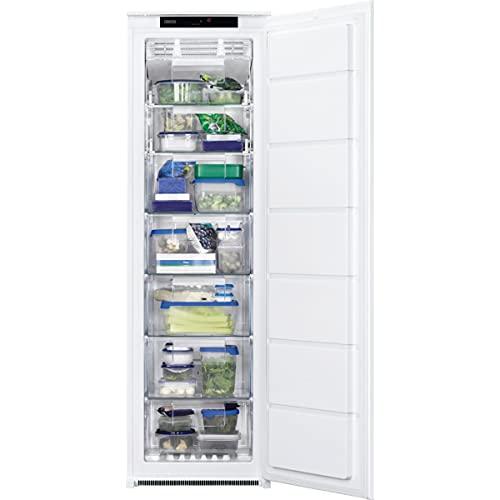 Zanussi ZUNN18FS1 Congelador Vertical Integrable, 177 cm, No Frost, Control Electrónico, Display, Técnica arrastre, Clase F