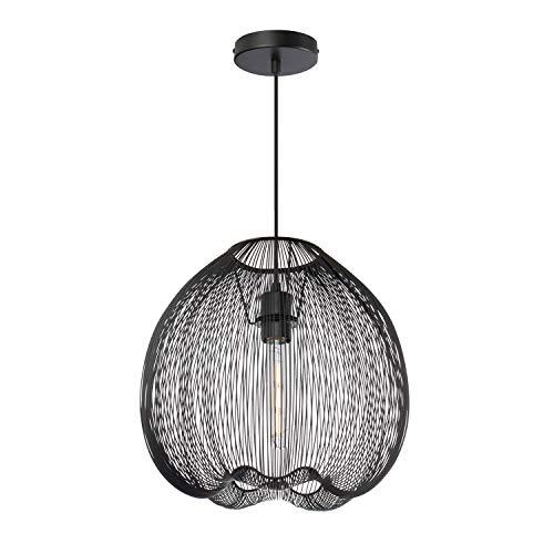 SKLUM Lámpara Cage Acero Negro - (Elige Color