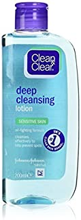 Clean & Clear Deep Cleansing Lotion - Sensitive (200ml)