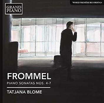 Frommel: Piano Sonatas Nos. 4-7