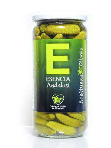 Pepinillos 700 Gr - Esencia Andalusí - Producto de Jaén (1 Unidad)