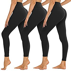 High Waisted Leggings for Women – Buttery Soft Tummy Control Yoga