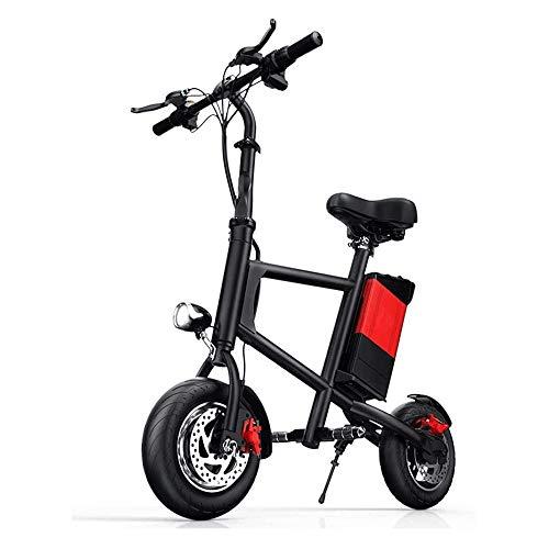 Hammer Moto for niños, Cuerpo de aleación de Aluminio, Plegable, con baterías de Litio, Peso Ligero, 220 Libras de Peso MAX Capacidad Ninguna Kick Start a Scooters motorizados con Asiento extraíble