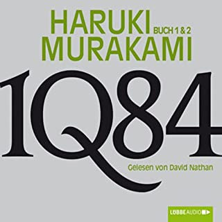 1Q84 (Buch 1 & 2) cover art