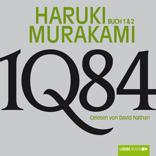 1Q84 (Buch 1 & 2) audiobook cover art