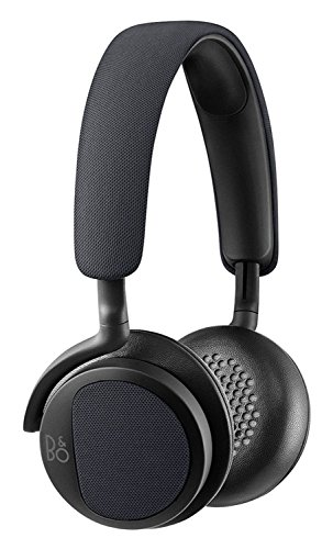 B&O Play 1642300 H-2 On-Ear Headphones (Carbon Blue)