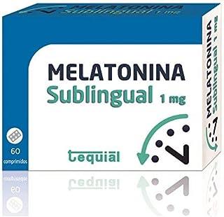 Tequial Melatonina 1Mg. 60 Comprimidos Sublinguales - 1 Unidad