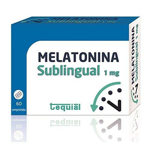 Tequial - Melatonina 1 Mg, 60 Comprimidos Sublinguales