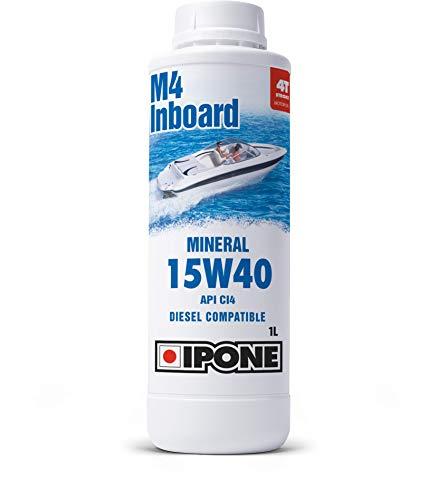 Ipone 800578 Huile Bateau 2 Temps Outboard 2000 RS – Semi-Synthétique avec Esters-Protection du Moteur-Anticorrosion-Bidon 5 litres, Other, 1L