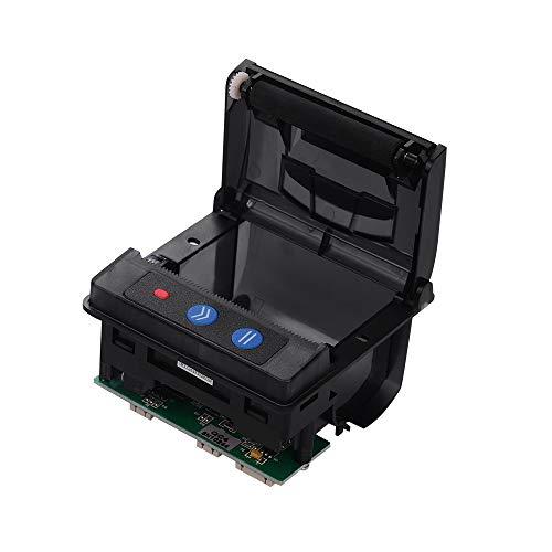 Impresora térmica,Entweg Módulo de impresora QR203 58 mm Impresión térmica directa de bajo ruido Mini panel Impresora de recibos móvil Interfaz serial RS-232C TTL USB