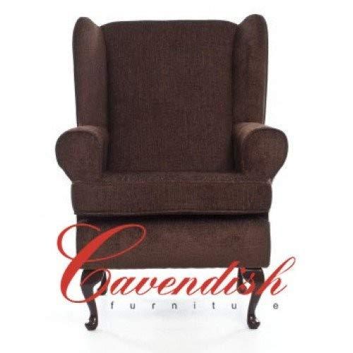 Cavendish Furniture Orthopädische hoher Sitz Stuhl (53,3cm Sitz Höhe) in braun