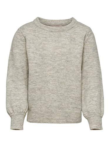 158 ONLY M/ädchen KONBEAT L//S Hood NOOS Kapuzenpullover Grau Herstellergr/ö/ße: 158//164 Light Grey Melange Light Grey Melange