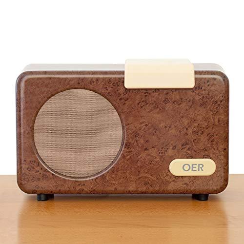 OER Muziekspeler (dementievriendelijk). Deze dementie radio is een bijzonder hulpmiddel voor ouderen. Eenvoudig luisteren naar muziek met één scharnier. Muziek in de zorg voor iemand met dementie.